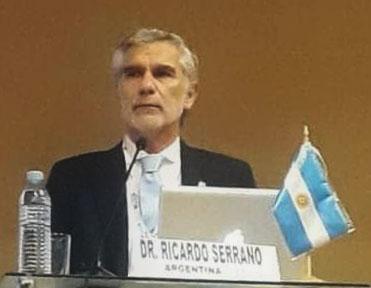 El Dr. Ricardo Serrano en el 8vo. Congreso Latinoamericano de Laringología, Fonocirugía y Voz